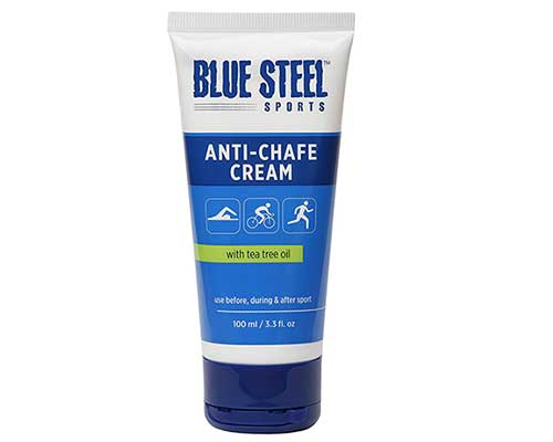 Blue Steel Sports ANTI-CHAFE CREAM with tea tree oil