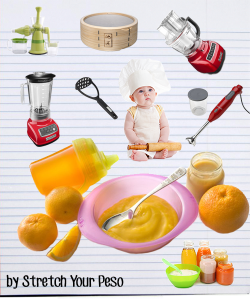 baby food equipment